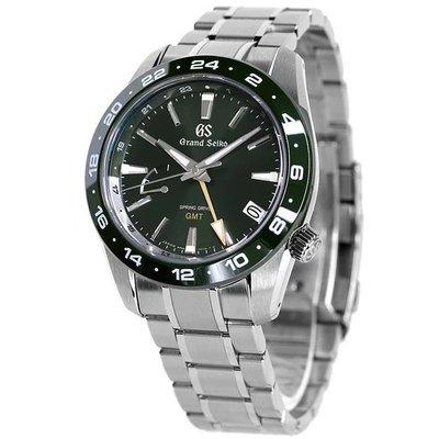 預購 GRAND SEIKO GS SBGE257 精工錶 機械錶 GMT 41mm 陶瓷圈 綠色面盤 鋼錶帶 男錶女錶