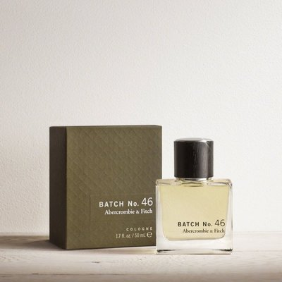 A&F  MEN 新款香水 BATCH No.46 50ML Abercrombie & Fitch 我愛麋鹿 AF正品