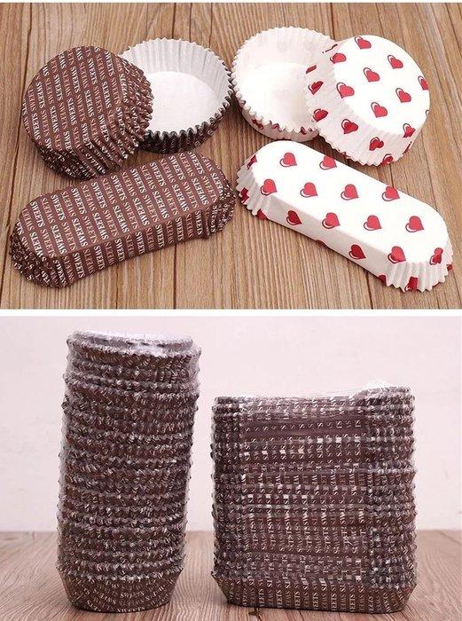 Amy烘焙網:經典款咖啡色英文台式甜麵包托/耐高溫淋模麵包托/點心內托/防油/200入