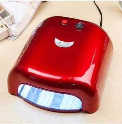 【優上】美甲工具光療燈UV燈烤燈烤箱光療機QQ甲油膠指甲油光療膠36W