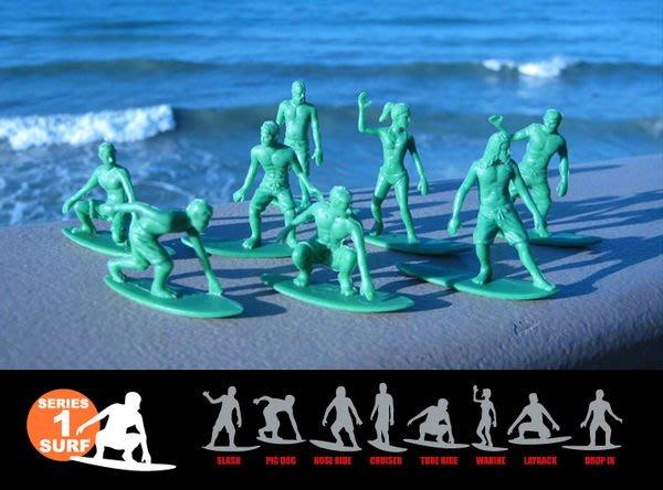 { POISON } ORIGINAL AJ'S TOY BOARDERS SURF衝浪 玩具小兵 美國進口懷舊玩具