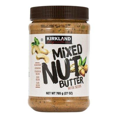 綜合堅果抹醬765公克 十月11&22日10點萊爾富免運 Costco好市多 Kirkland科克蘭 Mixed Nut Butter 765g
