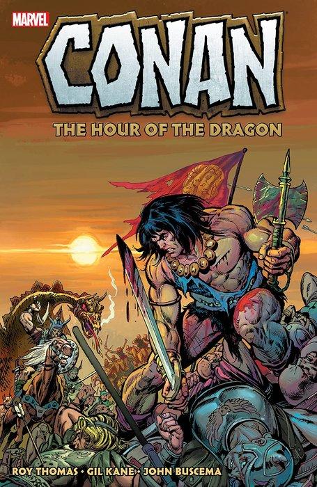 《代訂中》[美版書籍] Conan: The Hour Of The Dragon 9781302923297