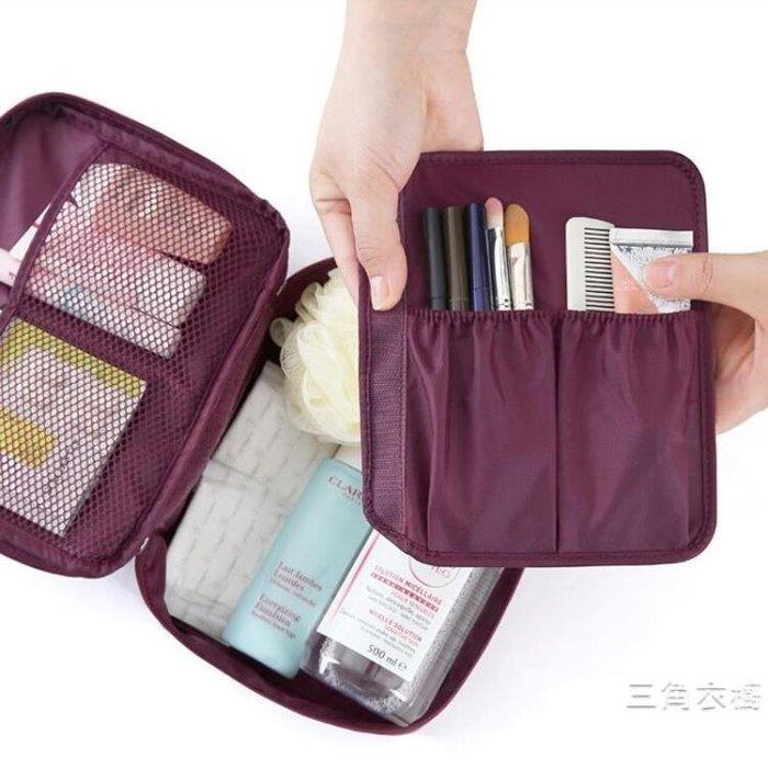 韓版旅行用大容量洗漱包 防水化妝包 多功能旅行收納包