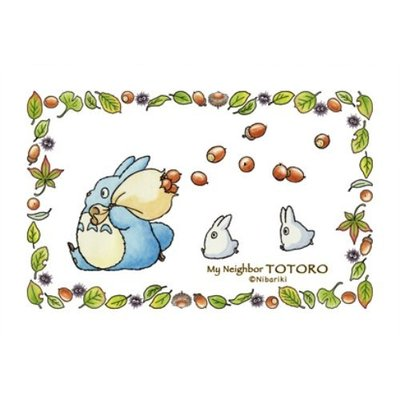 JP購✿10021200016 日本製拼圖150P-藍龍貓3匹 宮崎駿 龍貓 TOTORO 拼圖 桌遊 150片 收藏