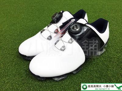 [小鷹小舖] Mizuno Golf VALOUR 005 美津濃 高爾夫 有釘 球鞋 人工皮革鞋面 BOA旋扣式鞋帶