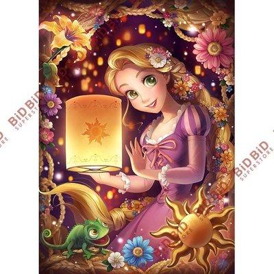Disney 迪士尼 魔髮奇緣 長髮公主 夜光 Jigsaw Puzzle 砌圖 拼圖 500pcs 日本製 Rapunzel 樂佩