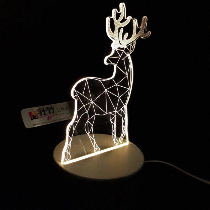 現貨 LED小夜燈 三光源-麋鹿