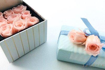 《Are獨立之家》日本永生花 小玫瑰 2-2.5cm 粉紅色 花盒DIY 花束配件DIY 裝飾 單顆售價90元 台中市