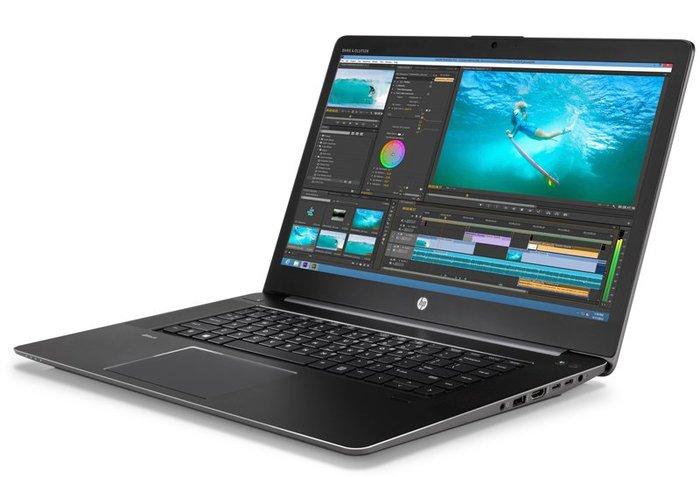 HP Zbook Studio G3工作站、E3-1505、4G繪圖卡、16G、512 + x、藍芽視訊ATM指紋背光鍵