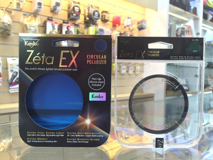 【日產旗艦】Kenko Zeta EX CPL 82mm 高透光 超薄框 環型 偏光鏡 正成公司貨 無暗角 另售 B+w