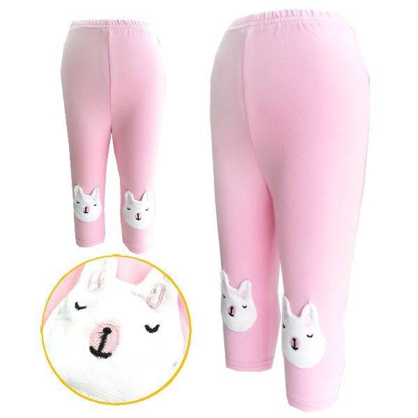 【班比納精品童裝】可愛晚安熊內搭褲-粉 【BN150309014】