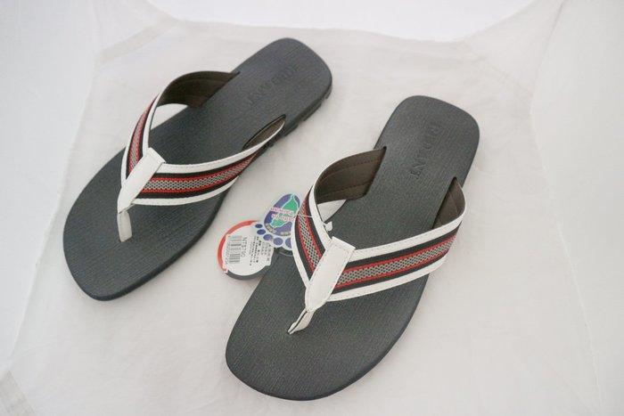 鞋之誠~紅螞蟻~男士拖鞋 / 男流行夾腳 拖鞋 涼鞋 NO:16122/台灣製造!!白色╭☆590元 39~44號
