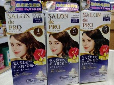 日本DARIYA 塔莉雅沙龍級白髮專用快速染髮霜4號/5號/6號