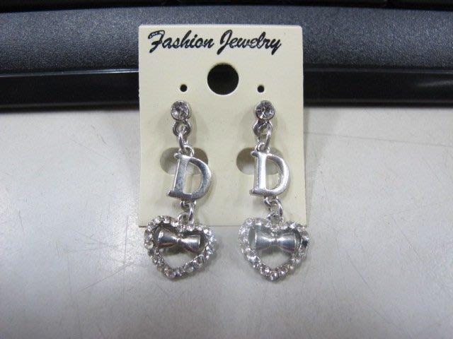 二手舖 NO.4501 時尚造型耳環 耳針 耳鉤 便宜賣 首飾飾品