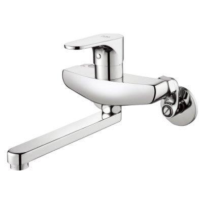 [大台北宅急修]水龍頭 台製 BOSS D-9028 壁式 廚房.浴缸龍頭(出水口360度可轉) 新北市