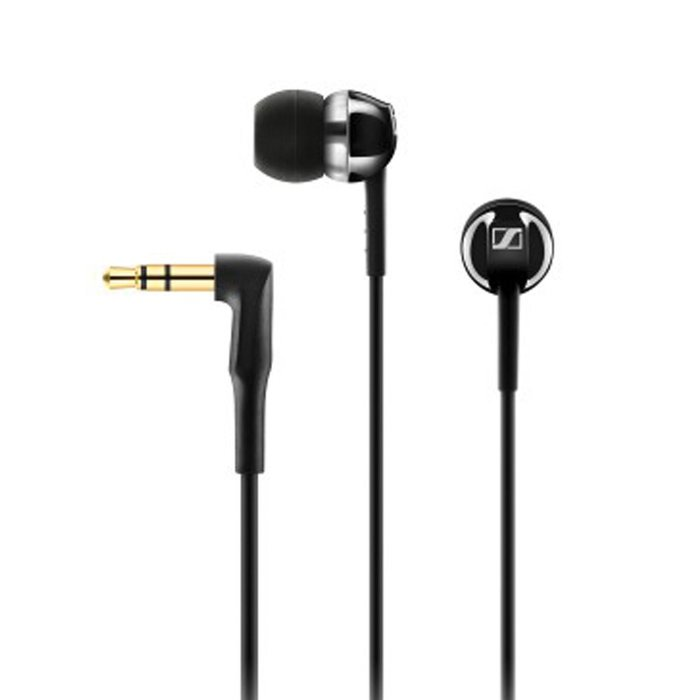 SENNHEISER CX1.00 耳道式耳機 (黑色/白色)
