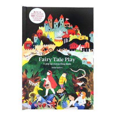 英文原版 Fairy Tale Play: A pop-up storytelling book 童話劇本 童話故事 兒童英文繪本立體書