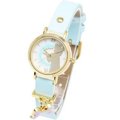 日本正版 Disney 迪士尼 冰雪奇緣 艾莎 手錶 腕錶 disney002-02-lb 日本代購