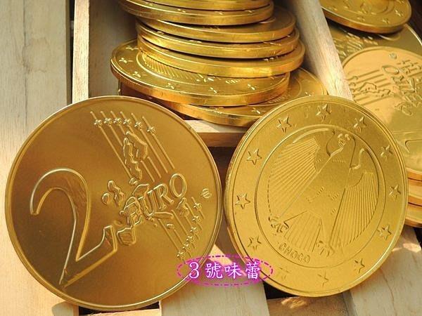 3號味蕾 量販團購網~特大獎章金幣巧克力6000公克量販價2770元.約240片