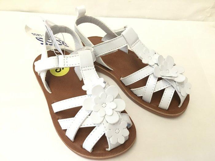 【美國MOMMY市集】美國 Carter's副牌 OSHKOAH Sunshine系列涼鞋 防滑 皮革舒服 基本款