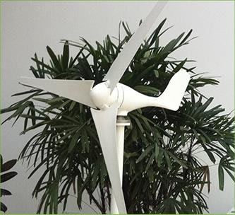 小型發電機家用400W500W600w小型風力發電機直立式家用風光互補路燈用用廠家