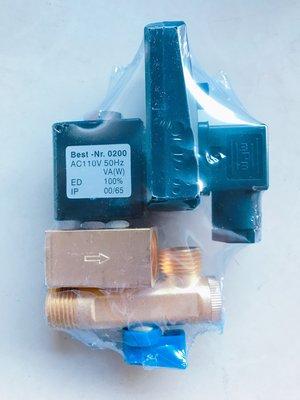 【勁力空壓機械五金】 ※ 定時自動排水器 4分牙 110V 定時電子式自動排水器 電子式排水器 儲氣筒排水器