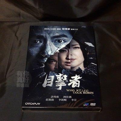 全新熱門影片《目擊者》DVD 程偉豪 許瑋甯 莊凱勛 柯佳嬿 李銘順 李淳