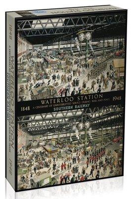 全新現貨正品 英國 Gibsons 拼圖 Waterloo Station 英國 滑鐵盧車站 1000片