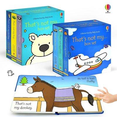 Usborne Touchy-feely books 共兩款 動物 交通  硬頁 觸摸 寶寶書 童書