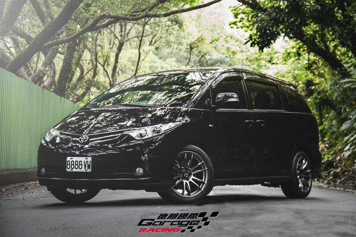 德朋國際 / ㊣ RAYS  57XTREME SP SPEC 鑄造輕量化Toyota Previa實裝