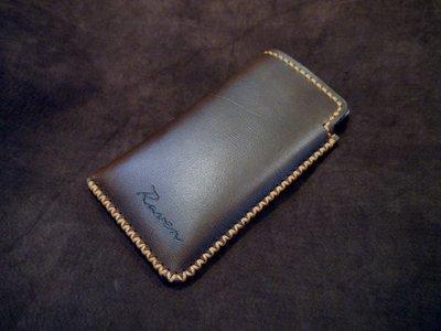 KH手工皮革工作室 MIT全牛皮SONY Xperia 1 ll Xperia 1 直式手機皮套 手拿款不刮傷配色自選