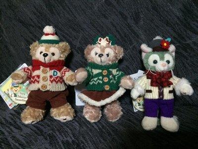 ~~ちび ちゃん Chibi 將 House ~~ 現貨供應中~~日本海洋迪士尼限定 達菲聖誕節吊飾 達菲公車 睡衣款