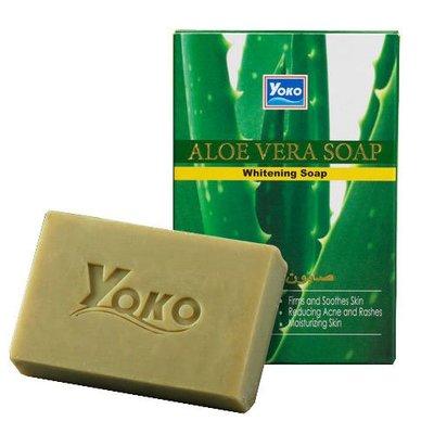 含稅 YOKO 優菓 蘆薈 抗痘 煥白皂 肥皂 香皂 100g 保濕 美白 原裝進口【004433】 台北市