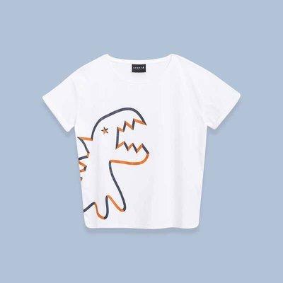On sale!正品 Sport b. 大恐龍 agnes b. 口袋小恐龍 純棉T恤 女裝