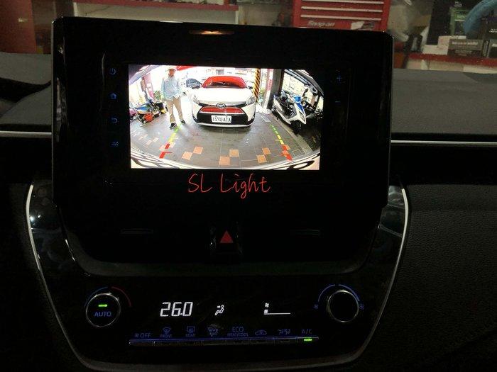 SL光電精品~TOYOTA 2019 ALTIS 12代 專用 倒車影像 鏡頭 倒車 含距離支援 原廠主機 專用線組