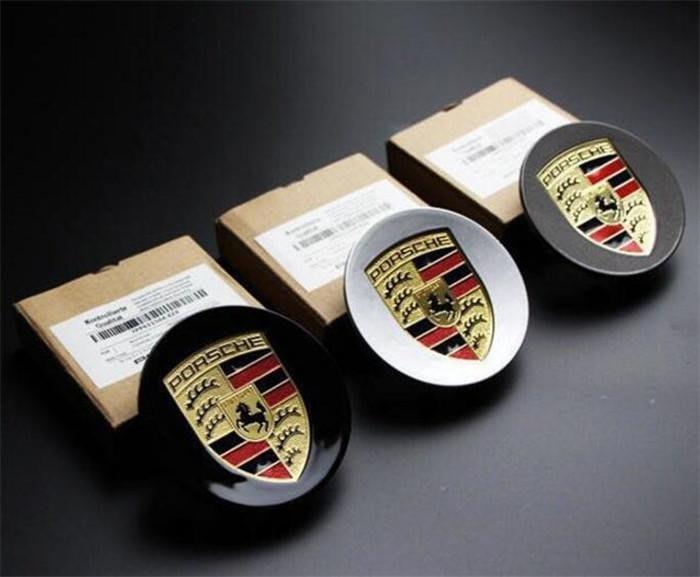 ⑦色花**專用於保時捷輪轂蓋Panamera macan卡宴卡曼911輪胎蓋改裝車標