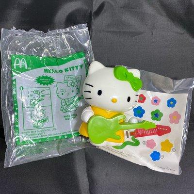 McDonald's 麥當勞吉他手Hello Kitty@企業娃娃企業寶寶收藏早期懷舊復古柑仔店玩偶公仔玩具