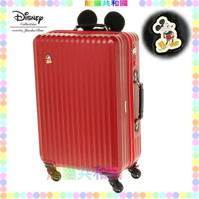 ※龍貓共和國※日本進口 迪士尼Disney《Mickey米奇 行李箱 登機箱60CM》[日本正版_限量珍藏版!]