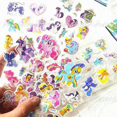 (1組6張30元)彩虹小馬 貼紙 泡泡...
