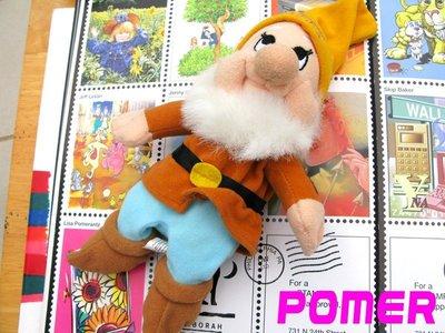 ☆POMER☆日本趣味雜貨小店購入正品已絕版 白雪公主與七矮人小矮人The Seven Dwarfs HAPPY娃娃玩偶