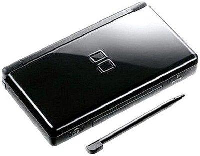 【二手主機】任天堂 NINTENDO DSL NDSL JET BLACK 深黑色 主機 附充電器【台中恐龍電玩】