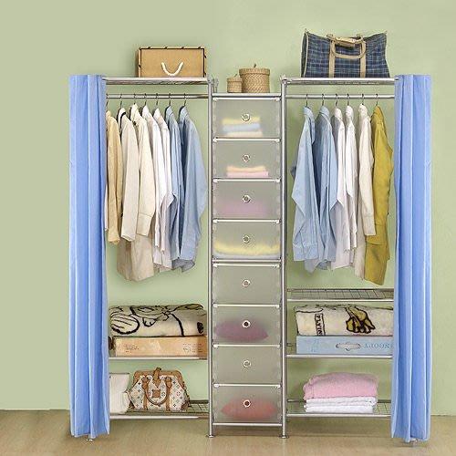 【中華批發網DIY家具】D-62B-04-W3型60+pp+W4型60衣櫥置物櫃-(前罩)不織布