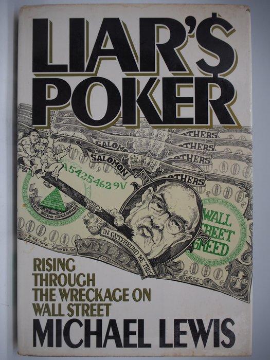 【月界二手書店】Liar's Poker(老千騙局英文版)_Michael Lewis_精裝本 〖股票〗AIQ