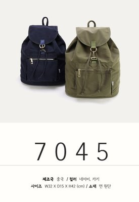 女人窩-韓國DAAD輕量超纖帆布後背包兩色