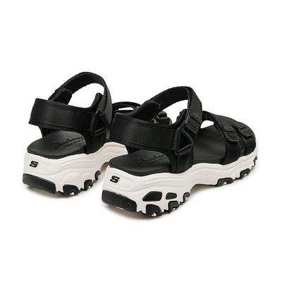 (A.B.E)SKECHERS DLITES 31514BLK 31514WBK 女潮鞋 兩色