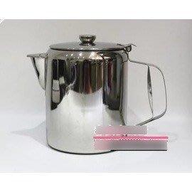 【不銹鋼港式奶茶壺-不銹鋼-直徑14.5*高20cm-2.8L-1套/組】絲襪奶茶壺 咖啡壺 電磁爐可用-7501007