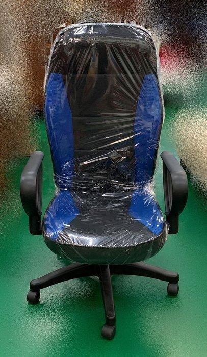 【宏品二手家具館】中古家具 全新 EA131-3AF*新藍網升降OA椅*電腦書桌椅 辦公傢俱 鐵櫃 主管桌 會議桌出清