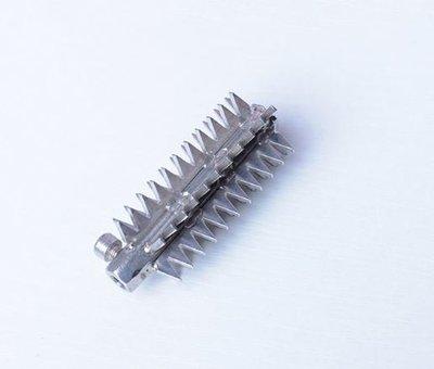 電動刮魚鱗配件 304不銹鋼刀頭 通用型 尖齒 電動刮魚鱗器刀頭 魚鱗刨刮魚鱗機打魚鱗器專用(不含電動魚鱗機)