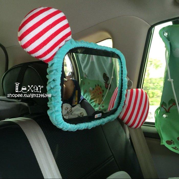 安全座椅車內後視鏡兒童觀察鏡寶寶汽車嬰兒反向提籃觀後反光鏡子
